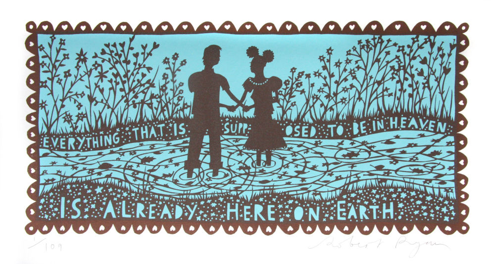 Rob Ryan, 'Everything That is Supposed to be in Heaven', donated for 'Objects of Change' (© Rob Ryan)