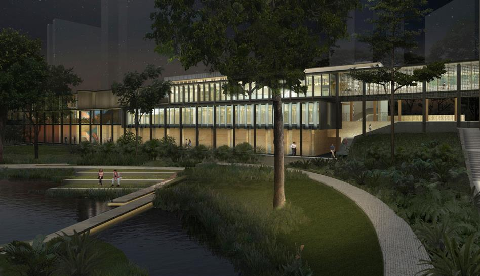 Learning Commons from the Campus Green