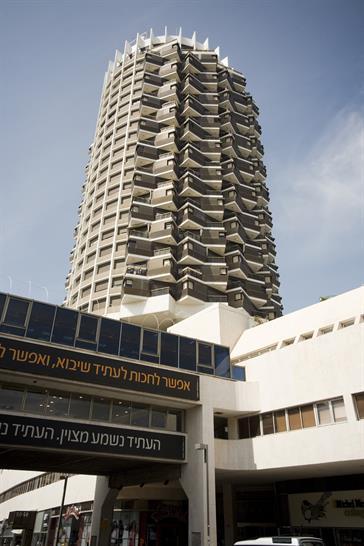 Dizengoff Tower: Mordechai Ben Horin