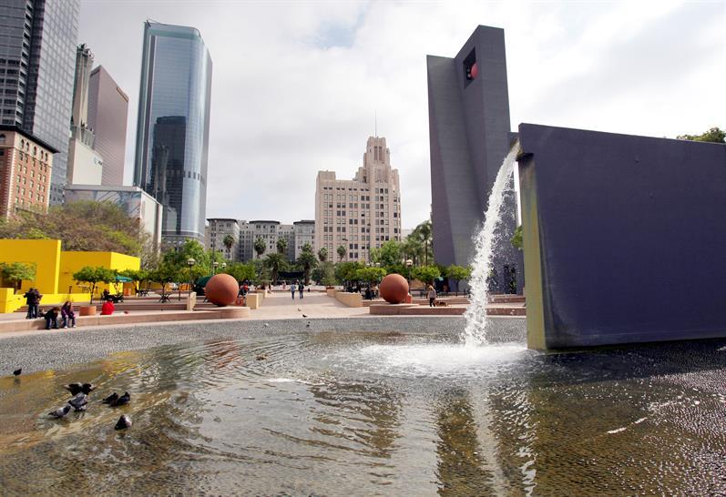 Pershing Square, Los Angeles, USA, 1993