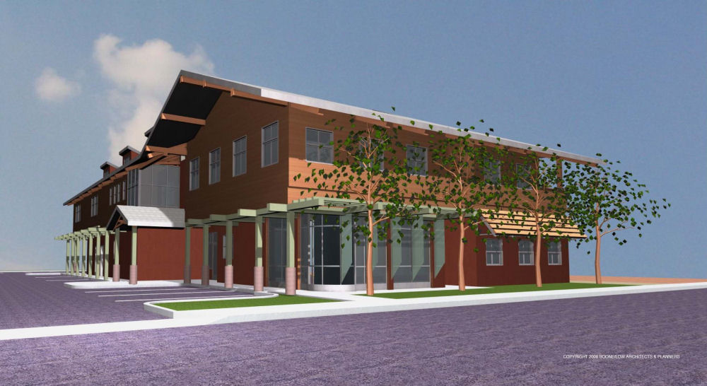 Live Oak Family Resource Center: Copyright Boone/Low Architects and Planners