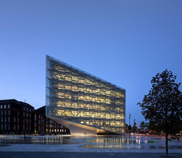 schmidt hammer lassen architects, The Crystal København