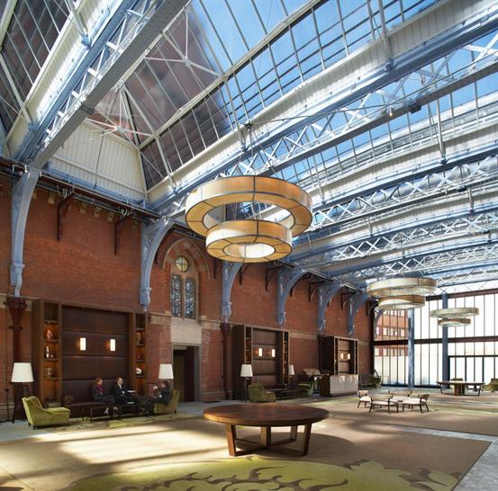 RHWL Architects, St Pancras Renaissance Hotel