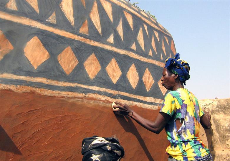 Cour Royale de Tiébélé, Centre-Sud Region, Burkina Faso