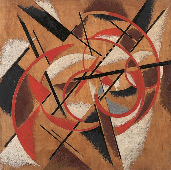 Liubov Popova, Spatial Force Construction, 1920-21. Courtesy State Museum of Contemporary Art - G. Costakis Collection, Thessaloniki, Greece and Royal Academy of Arts.