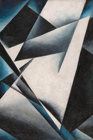 Liubov Popova, Painterly Architectonics, 1918-19. Courtesy State Museum of Contemporary Art - G. Costakis Collection, Thessaloniki, Greece and Royal Academy of Arts.