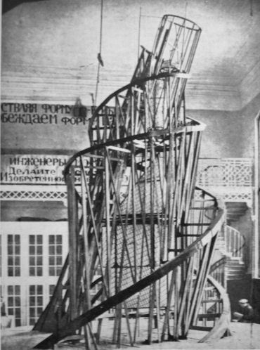 Model of Monument to the Third International (Tatlin