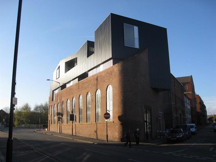 Shoreham Street, Sheffield. Office/restaurant. Completed 2012