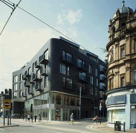266 Glossop Road, Sheffield. Mixed Use. Completed 2006