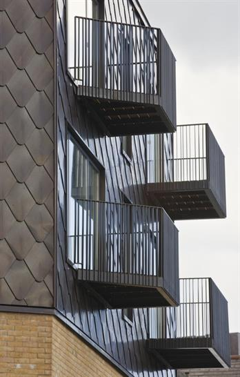 Field Street, London. Residential/commercial. Completed 2009