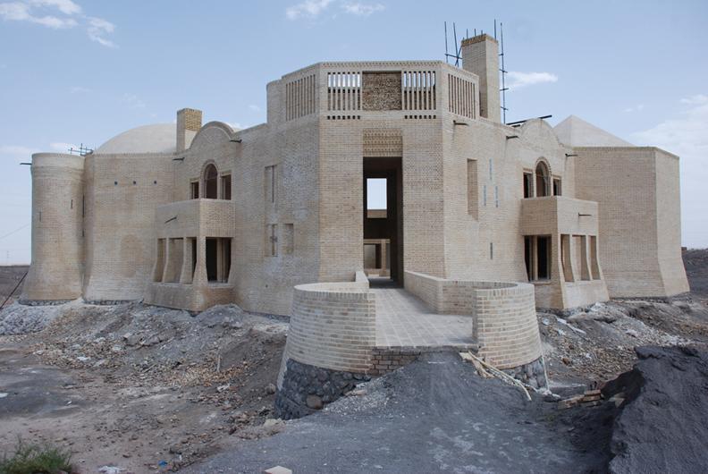 Bam Cultural Center for Women; Image courtesy of Rishad Khomarlou
