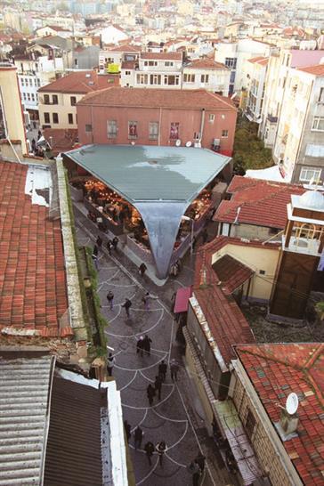Beşiktaş Fish Market; Image courtesy of Alp Eren, Özlem Avcıoğlu