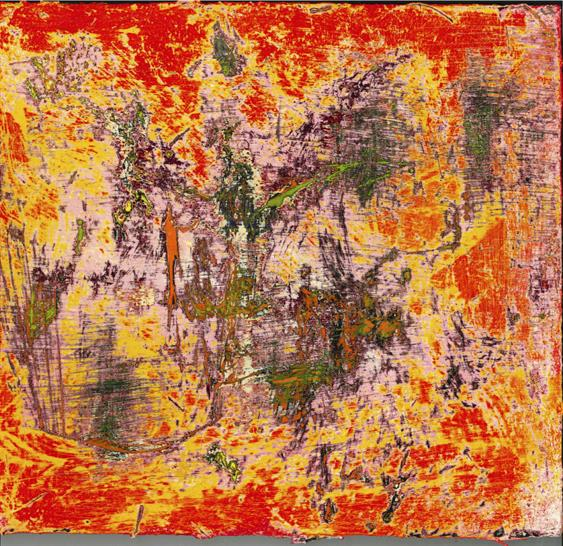 Michael Van Valkenburgh. An exploration of materialism; lacquered oil on wood