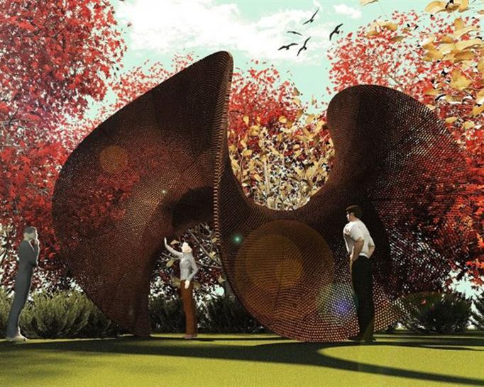 The Enneper Pavilion by Maria Mingallon