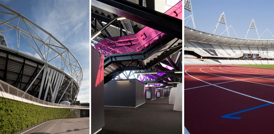 London Olympic Stadium. Images: Morely von Sternberg/LOGOC