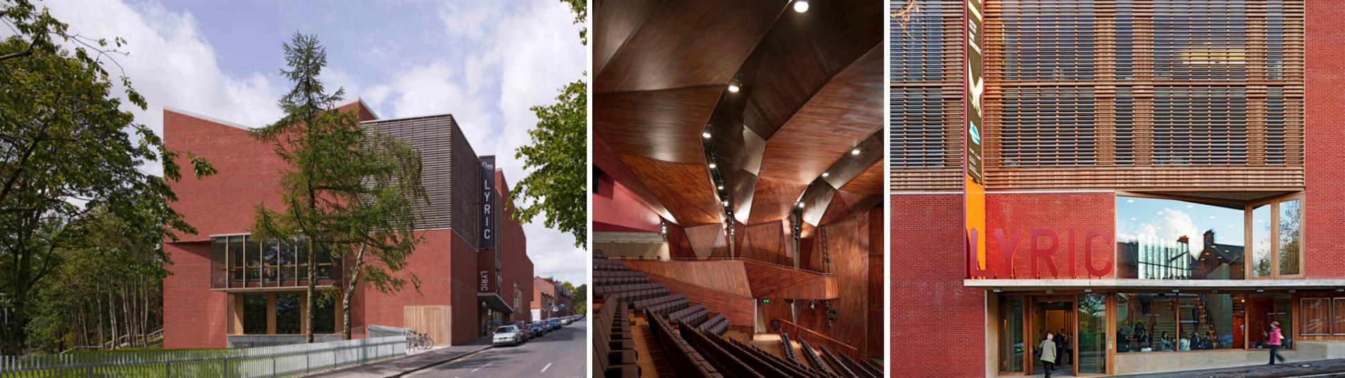 The Lyric Theatre, Belfast. Images: Dennis Gilbert