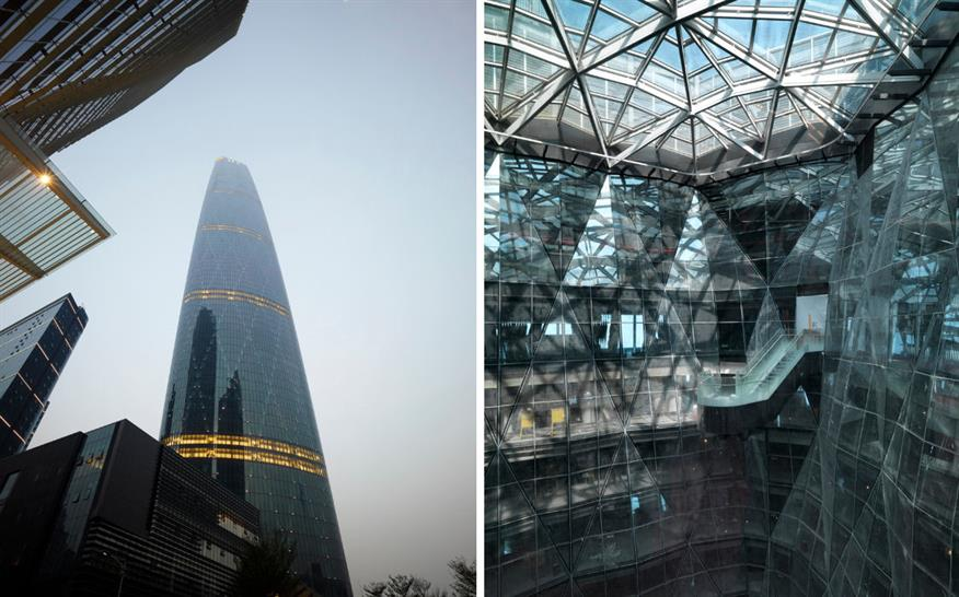 Guangzhou International Finance Centre. Images: Christian Richters and Jonathan Leijonhufvud