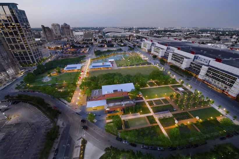 Discovery Green, joint winner 2010 | PageSoutherlandPage
