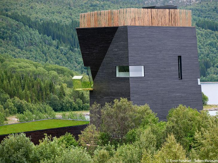 Knut Hamsun Museum, Presteid of Hamaroy, Norway