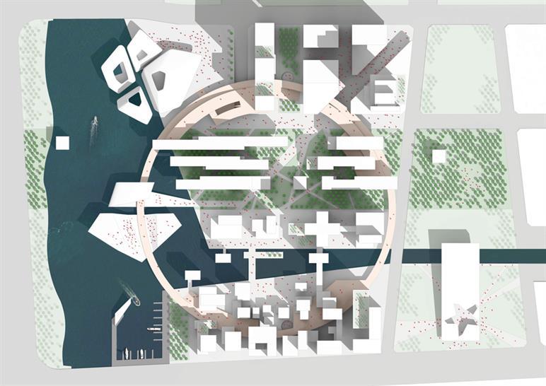 Site PlaSite Plan (image © PLP Architecture)