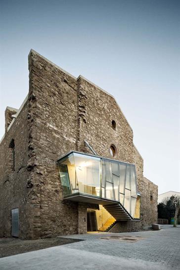 David Closes reinvents the dilapidated Sant Francesc church in Santpedor . CopyrightJourdi Surroca
