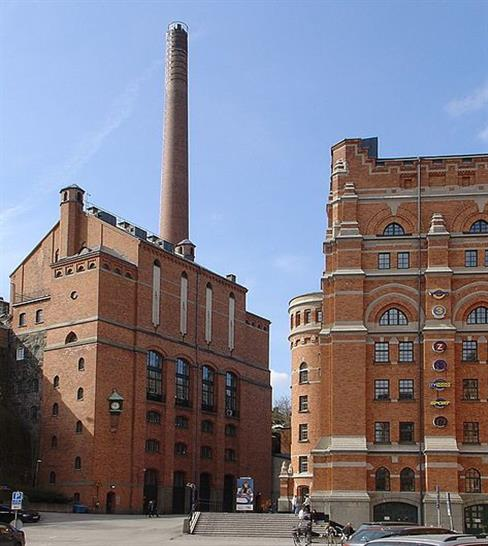 pS Arkitektur redevelop München brewery in Stockholm into Skype Office