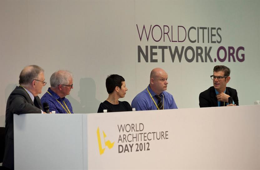 Peter Bill, Ken Shuttleworth, Manuelle Gautrand, David Warrender, Barry Hughes