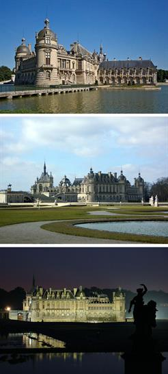 Chateau de Chantilly, A View to a Kill