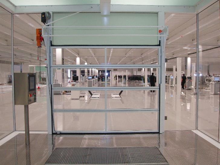 The Compact Industrial Door