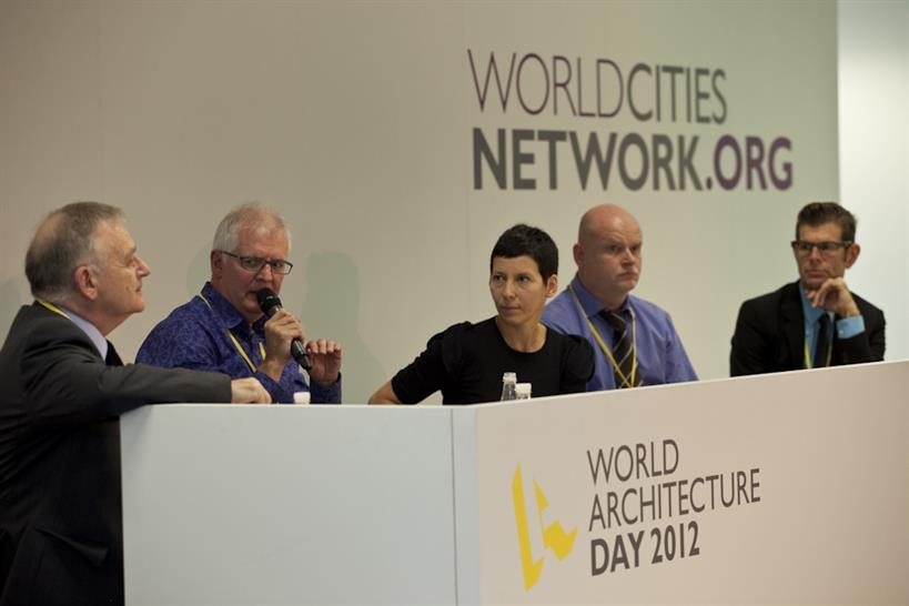 Commercial panel: Peter Bill, Ken Shuttleworth, Manuelle Gautrand, David Warrender, Barry Hughes