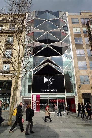 Manuelle Gautrand Architecture,  C42 Citroën Flagship Showroom, Paris, France