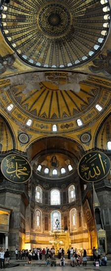 Hagia Sophia by Isidore of Miletus, Anthemius of Tralles, and Generations of Craftsmen