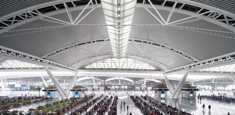 Guangzhou South Railway Station. Image: Nick Hufton