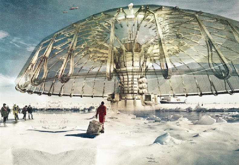 1st place: Polar Umbrella