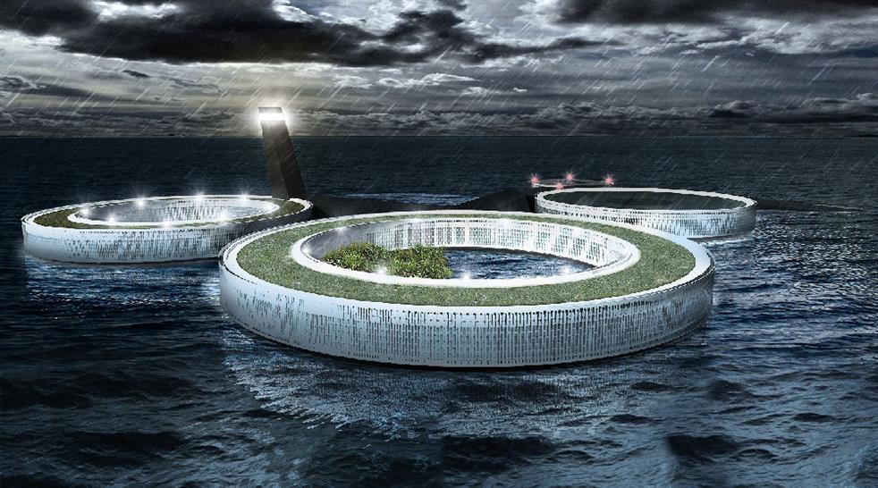 3rd prize: Atoll Prison