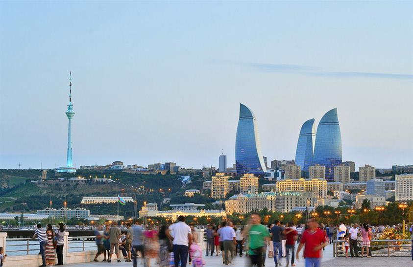 Baku Flame Towers © HOK