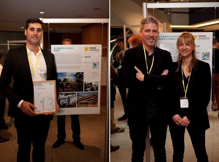 Lourenço Gimenes of FGMF / Thomas Dubuisson and Caroline Barat of Agence Search