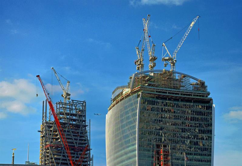 The Leadenhall Building (left) and 20 Fenchurch (right). Image: Duncan Harris via Flickr