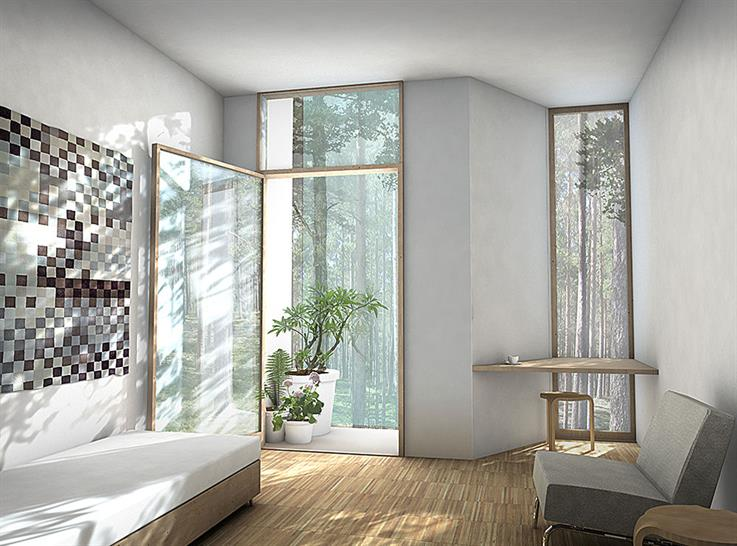 White Arkitekter AB: The New Psychiatric Clinic, Boras