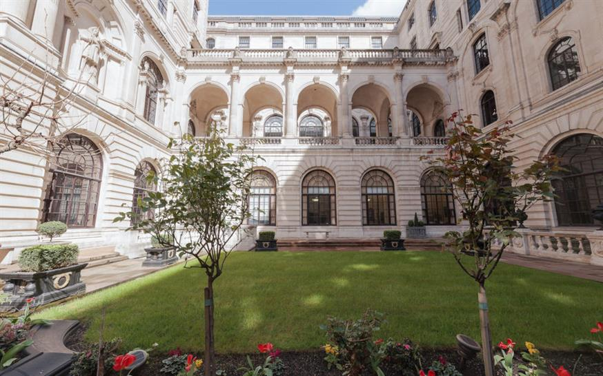 The Garden Court at the Bank of England