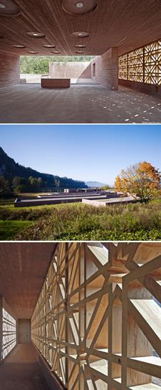 Islamic Cemetery, Altach, Austria by Bernardo Bader Architects
