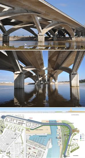Rabat-Salé Urban Infrastructure Project, Morocco by Marc Mimram Architecture