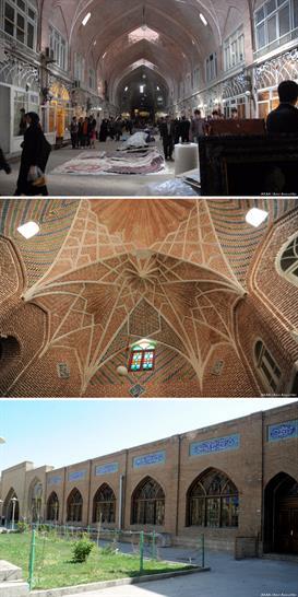 Rehabilitation of Tabriz Bazaar, Tabriz, Iran by ICHTO East Azerbaijan Office