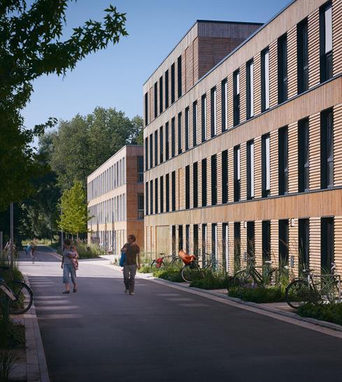 Neue Hamburger Terrassen by LAN Architecture