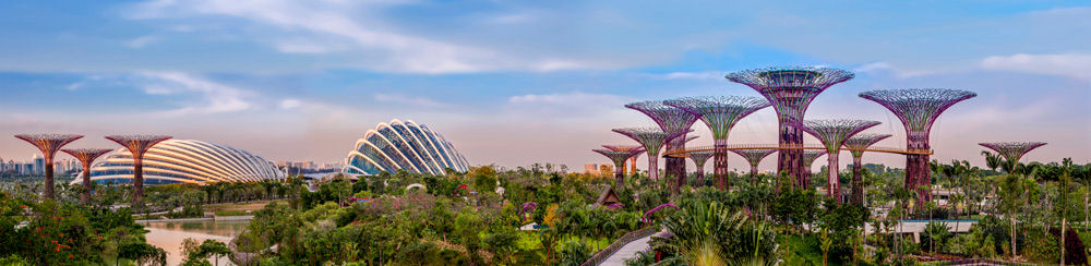 Bay South at Gardens by the Bay; Image courtesy of Craig Sheppard