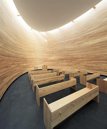 Chapel of Silence, KS2 Architects