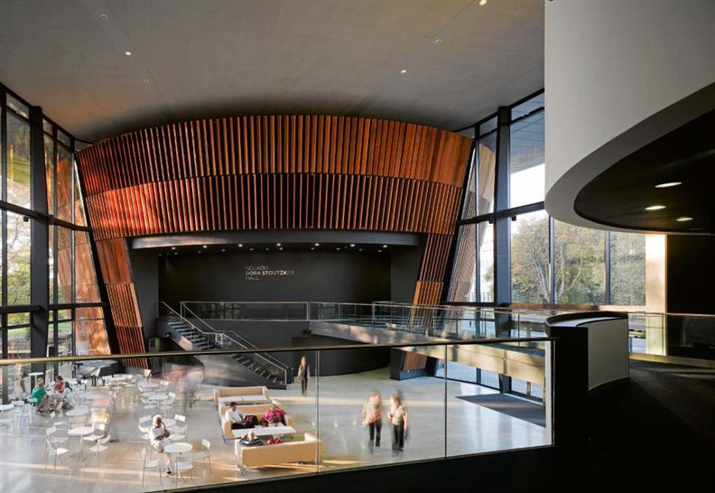 Royal Welsh College of Music & Drama, BFLS Architects