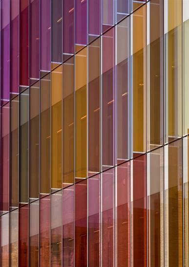 New Biochemistry Building at University of Oxford by Hawkins\\Brown. Image: Tim Crocker