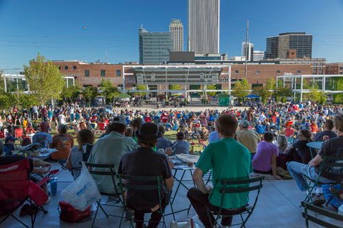 Guthrie Green Urban Park, Tulsa, United States by SWA Group