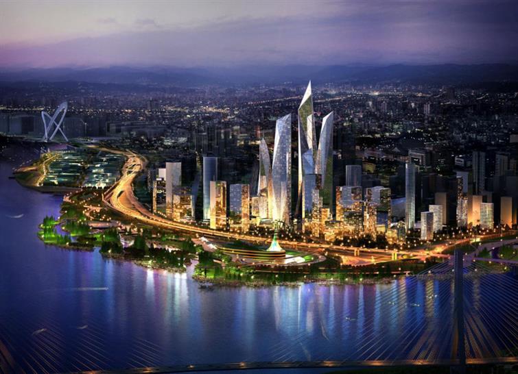 Nanjing Waterfront – Atkins